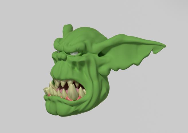 New Orc Head II